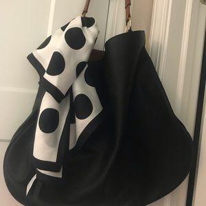 Anthropologie shoulder bag black
